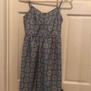 Jcrew silk medallion dress